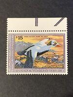 1992 US Federal Duck Stamps SC#RW59 MNH/OG. (I15).