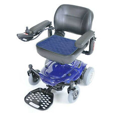 Absorbent Wheelchair/Chair Pad 50 x 40 cms Velour Blue.