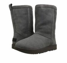 UGG Classic Short Waterproof Metal Size 8 Suede Sheepskin Boots 1017508