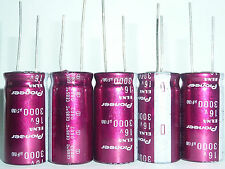 2pcs 3000uF 16V 16x32mm ELNA For Pioneer Top Grade HiFi Audio Capacitor