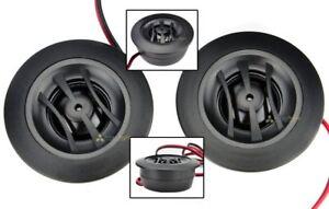 Orion Cobalt Dome Tweeters Set Pair Car Audio 4 Ohm 200W Flush Surface Mount New