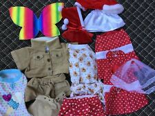 Lot of Build-a-Bear Clothes Outfits Accessories -