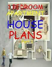 1 Bedroom Apartment / House Plans: Exclusively for Civil Engineers/Architects/In
