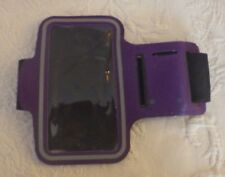 Purple Mp3 Carry Case Arm Band New