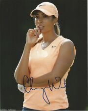 LPGA Cheyenne Woods Autographed Signed 8x10 Golf Photo COA F