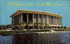 USA Vintage Postcard Los Angeles Music Center Building California Kalifornien
