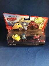Disney Pixar Cars 2 Luigi & Guido With Exclusive Car Unlce Topolino