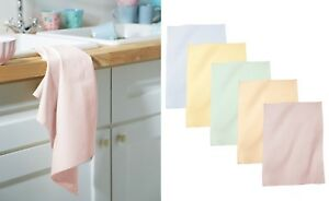 3x 5x 10x Pack 100% Cotton Super Jumbo Cotton Kitchen Tea Towel Dishcloth