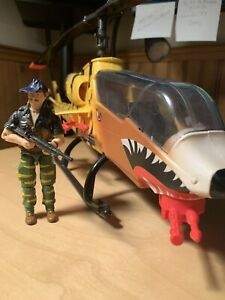Gi Joe Tiger Force Tiger Fly 100% Complete With Recondo