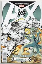 AVENGERS vs X-MEN Round 2 A vs X Sketch VARIANT 2012