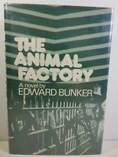 The Animal Factory by Edward Bunker 1977 First Edition First Printing HCDDJ