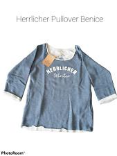 Herrlicher Sweatshirt Benice+blue melange+Neuware