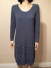 Rag & Bone Knit Sweater Dress Wool Blend  Size L NWT