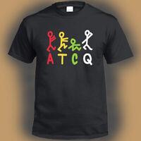 A tribe Called Quest ATQC American Hip Hop Logo Men's Black T-Shirt Size S-3XL