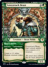 Lovestruck Beast // Heart's Desire - Showcase x4 Magic the Gathering 4x Throne o