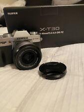 Fujifilm X-T30 26.1MP Mirrorless Camera - Black (with 15-45mm Lens)
