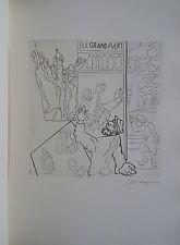 LEOPOLD SURVAGE libro d'Artista 1965 LES PAYSANS con dieci incisioni (-)