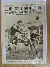 21/12/1926 le miroir des sports-Hebdomadaire Français Pictorial magazine: Nº 0349-un