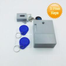 Tokatuker Battery RFID Keyless Digital Cabinet Lock Latch f/ Cabinet Drawer