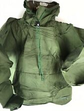 Vtg 1985 U.S. Military Smock with hood attached chemical MK 111 Large