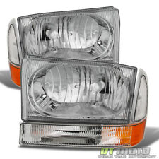 1999-2004 F250 F350 F450 Superduty Excursion Headlights Corner Lights Left+Right