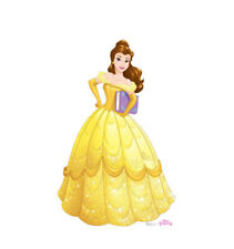 BELLE LIFE SIZE STAND UP FIGURE DISNEY MOVIE BEAUTY AND BEAST KIDS DECOR PARTY!!