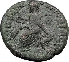 LUCIUS VERUS 162AD Tyana in Cappadocia City-Goddess Ancient Roman Coin i31784
