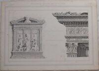 RICORDI DI ARCHITETTURA OPERA MINO DA FIESOLE CATTEDRALE FIRENZE TOSCANA 1891