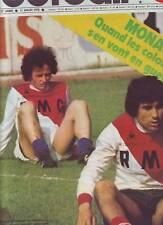 1978 france football n°1683 HAAN ROSSI ARGENTINA MONACO