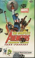 Marvel Complete Avengers sealed Box STAN LEE SKETCH ????