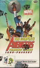 Marvel Complete Avengers sealed Box STEN LEE SKETCH ????