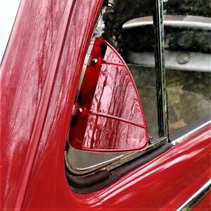 Breezies Wind Deflectors for classic car vw mini jaguar beetle RED AAC252R