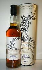 ROYAL LOCHNAGAR 12y 40% House BARATHEON Game of Thrones Whisky GoT 0.7L 25a