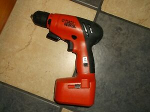 Black And Decker BDC752 Cordless Drill /Driver 7.2 V-Used, Working