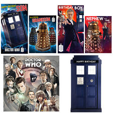 Doctor Who Birthday Cards Relation & General Dr Who Range FREE 1ST CLASS POSTAGE