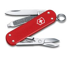 SWISS ARMY VICTORINOX 0.6221.L18 CLASSIC SD ALOX BERRY RED LIMITED POCKET KNIFE.
