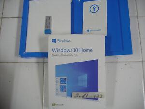 Microsoft Windows 10 Home Full English Version 32/64 Bit USB MS WIN=RETAIL BOX=