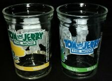 1993 Tom & Jerry Welch's Jelly Jar Glasses Set Of 2