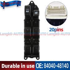 84040-48140 Master Power Window Switch  For 2003-2008 Lexus RX330 RX350 RX400
