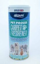 Airpure Pet Proud Carpet Freshener Wild Country Flowers 350g Scent Eliminator