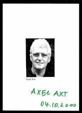 Axel Axt Original Signiert # BC 46358