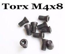10 Stk. M4 x 8 Torx Schrauben für Wendeplattenhalter