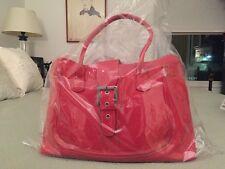 Tod's authentic vintage satchel bag buckle strap burnt orange red beautiful