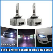 2x D1R HID Xenon Headlight Bulbs 6000K White Fit For Cadillac Escalade 2003-2006