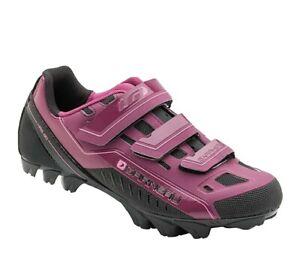 New Louis Garneau Sapphire Women's MTB Shoe: Magenta Purple