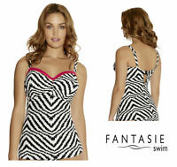 Fantasie Swimwear Amalfi Adjustable Side Underwired Tankini Top Multi 6528