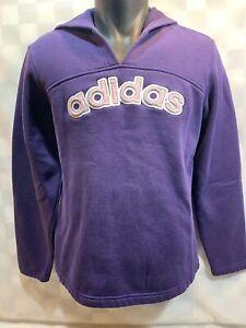 ADIDAS Brand Purple Hoodie Jacket Women's Size L
