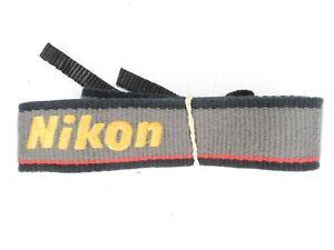 #3 Nikon NS-1 Black / Grey / Yellow / Red Camera Neck Strap For SLR / DSLR