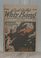 Capt. Billy's WHIZ BANG Vol. 1. No. 11 August, 1920 Early Risque Pulp Comic MINT