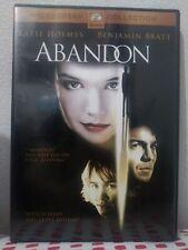 Abandon (DVD, 2003, Widescreen)Katie Holmes